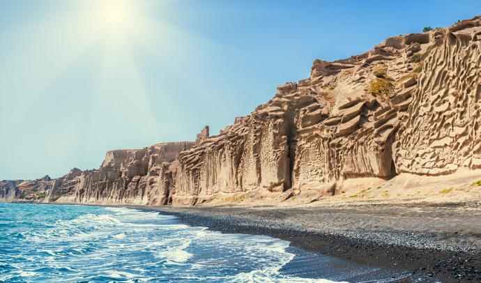Vlychada Beach